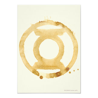 Coffee Lantern Symbol 13 Cm X 18 Cm Invitation Card