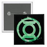 Coffee Lantern Symbol - Green 15 Cm Square Badge