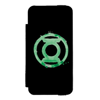 Coffee Lantern Symbol - Green Incipio Watson™ iPhone 5 Wallet Case