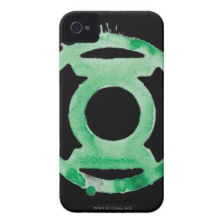 Coffee Lantern Symbol - Green iPhone 4 Cases
