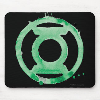 Coffee Lantern Symbol - Green Mouse Mat