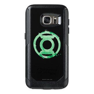 Coffee Lantern Symbol - Green OtterBox Samsung Galaxy S7 Case