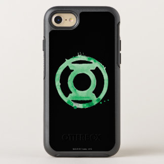 Coffee Lantern Symbol - Green OtterBox Symmetry iPhone 7 Case