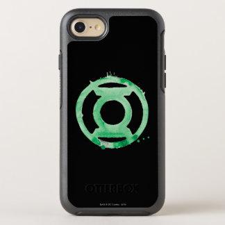 Coffee Lantern Symbol - Green OtterBox Symmetry iPhone 7 Case