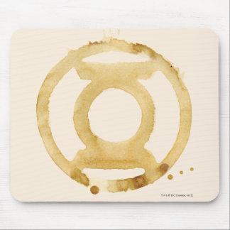 Coffee Lantern Symbol Mouse Pad