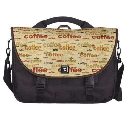Coffee Laptop Bag