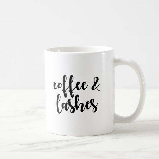 Coffee & Lashes Coffee Mug
