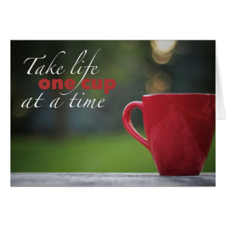 Coffee Life Note Cards
