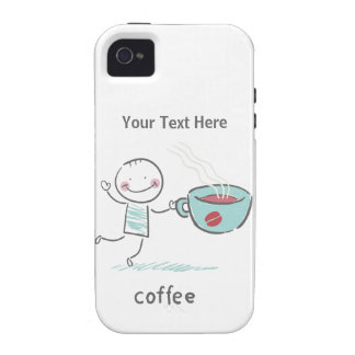 Coffee Love iPhone 4 Cases