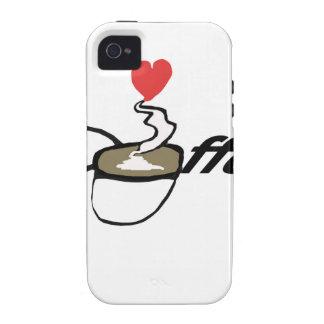 Coffee Love iPhone 4/4S Covers