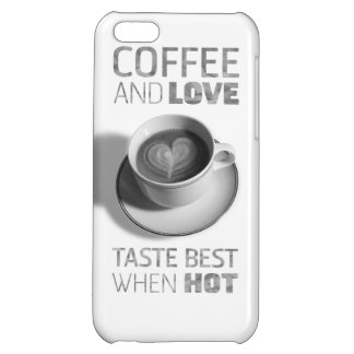 Coffee & Love iphone case iPhone 5C Covers