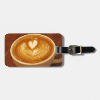 Coffee Love Luggage Tag