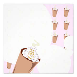 Coffee Love Stationery Personalized Invites