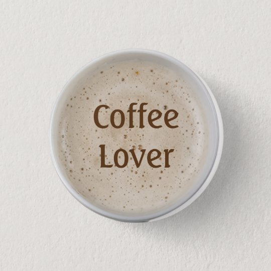 Coffee Lover 3 Cm Round Badge
