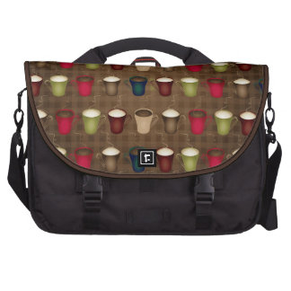 Coffee Lover Coffee Cups Bags For Laptop