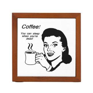 Coffee Lover Funny Desk Organizer Desk Organisers