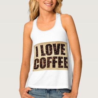 Coffee lover Tank Top