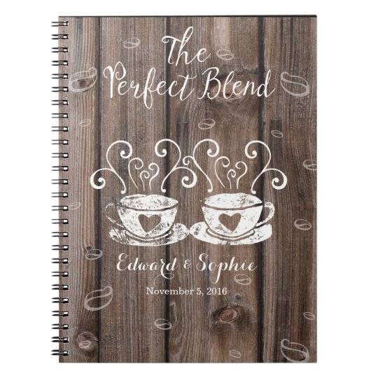 coffee lover wedding planner book bride planning