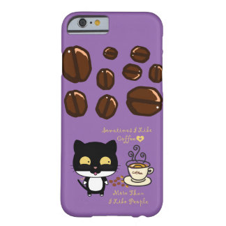 Coffee Lovers Barely There iPhone 6 Case