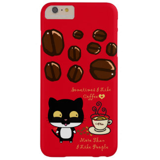 Coffee Lovers Barely There iPhone 6 Plus Case