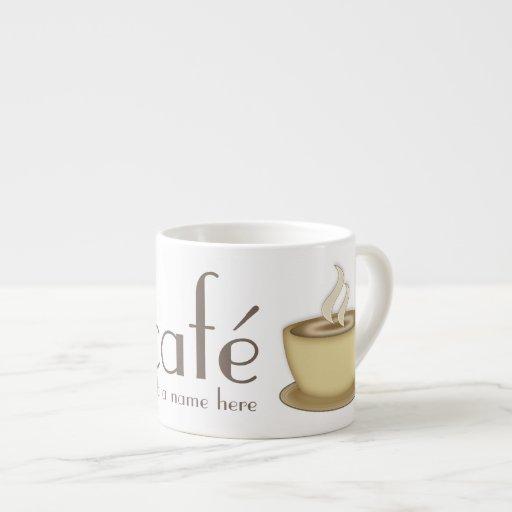 Coffee Lovers Café Personalized Espresso Cup