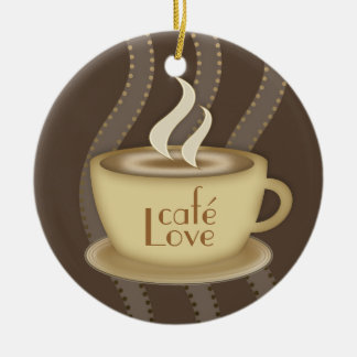 Coffee Lovers Christmas Ornament