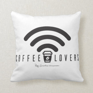 Coffee Lovers Cushion