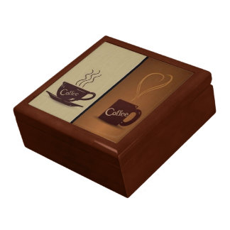 Coffee Lovers Jewelry Box