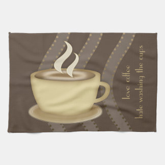 Coffee Lovers Tea Towel