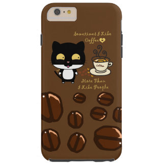 Coffee Lovers Tough iPhone 6 Plus Case