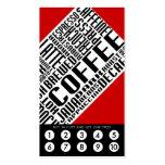 coffee loyalty (wordWEBs)