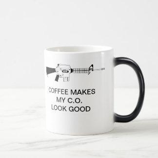 COFFEE MAKES MY C.O. LOOK GOOD MAGIC MUG