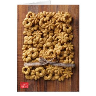 Coffee Maple Spritz Cookies Card