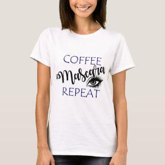 Coffee Mascara Repeat T-Shirt