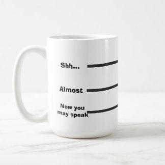 Coffee Measurement Basic White Mug