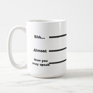 Coffee Measurement Coffee Mug