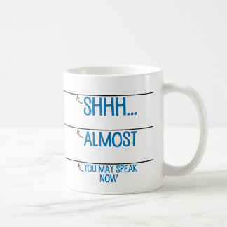 Coffee Measuring Cup You May Speak Now Mug