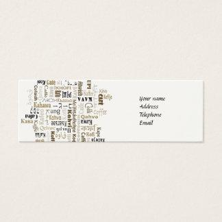 Coffee Mini Business Card