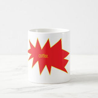 coffee. basic white mug