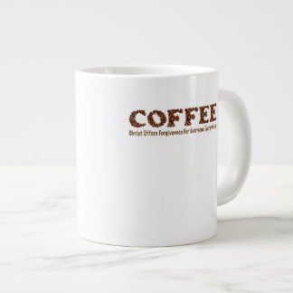 "Coffee Mug 20 Oz ""Christ Offers Forgiveness For"