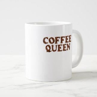 "COFFEE MUG 20 Oz. ""COFFEE QUEEN"" Jumbo Mug"