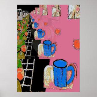 Coffee Mug Blue, Matisse Style e Poster