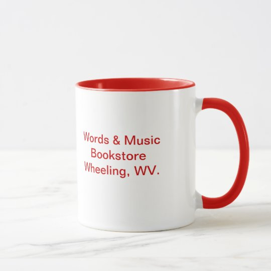 coffee mug bookstore