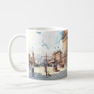 Coffee Mug - Brisbane, Queensland, Australia