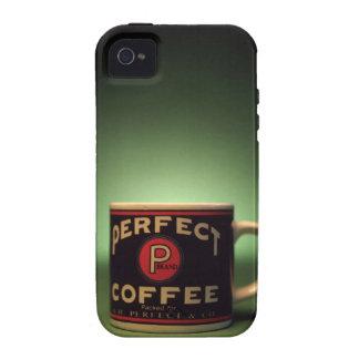 Coffee mug vibe iPhone 4 case