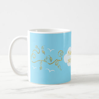 "Coffee mug ""Castle in the Sky"" Mommys Sippy Cup"