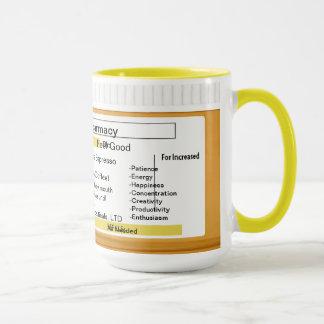 Coffee Mug Customizable Prescription RX