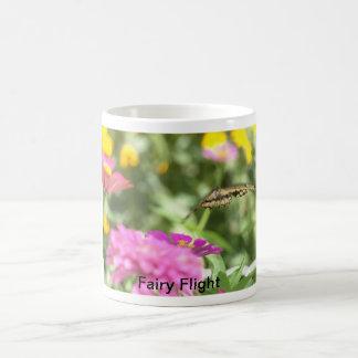 Coffee Mug: Fairy Flight Basic White Mug