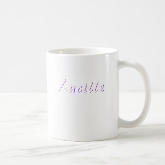 Coffee mug for Lucille