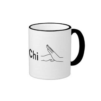 Coffee Mug I heart Tai Chi hand over fist